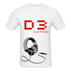 D3 Music Mens  - Men's T-Shirt