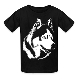 Kid's Husky T-shirt Siberian Husky Shirts & Gifts - Kids' T-Shirt