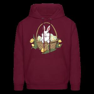 Easter Hoodie Easter Bunny Hooded Sweatshirts Shirts - Men's Hoodie