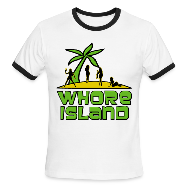 Whore Island Archer T-Shirts