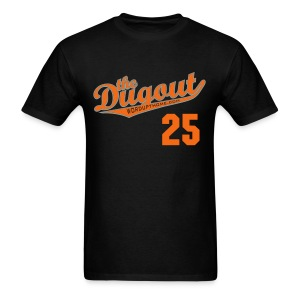 LicenseToPills #25 (Barry Bonds) Giants Dugout T - Men's T-Shirt