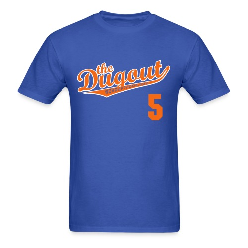 DudleyDoWright #5 (David Wright) Mets Dugout T - Men's T-Shirt