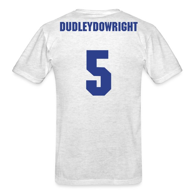DudleyDoWright #5 (David Wright) Mets Dugout T (Ash)