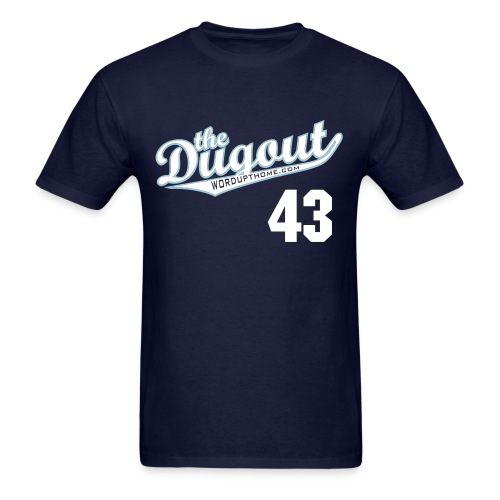 F4rnsw0rth #43 (Kyle Farnsworth) Rays Dugout T - Men's T-Shirt