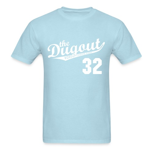 PECOTA #32 (Bill Pecota) Royals Dugout T - Men's T-Shirt