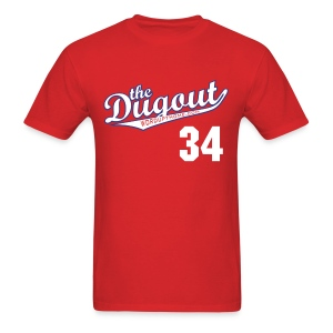 HooligansHalladay #34 (Roy Halladay) Phillies Dugout T - Men's T-Shirt
