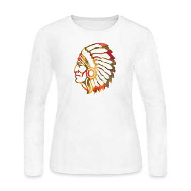 NATIVE AMERICAN INDIAN Long Sleeve Shirts