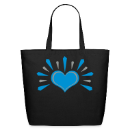 Bags & backpacks ~ Eco-Friendly Cotton Tote ~ Love Rays