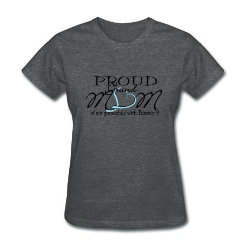 Proud T9 Grandmom - Women's T-Shirt