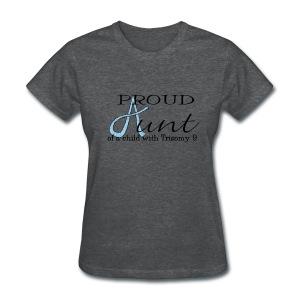 Proud T9 Aunt - Women's T-Shirt