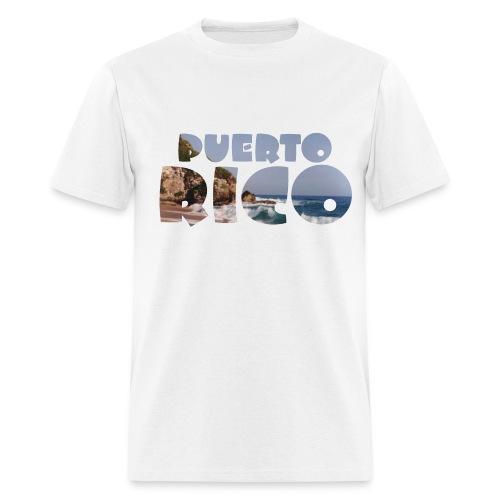Playa de Puerto Rico - Men's T-Shirt