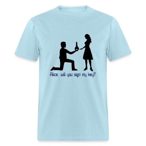 The Proposal - Men's T-Shirt