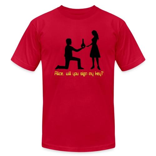 The Proposal - Men's  Jersey T-Shirt