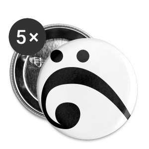 Bass Clef Buttons - Small Buttons
