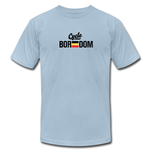 Belgian E-Flag - Men's T-Shirt by American Apparel