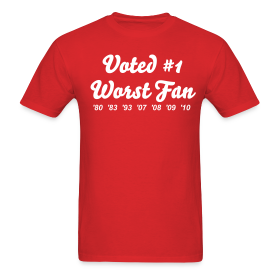 Worst Fan Ever - Men's ~ 351