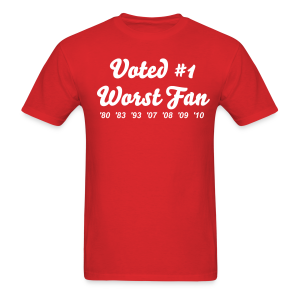 Worst Fan Ever - Men's - Men's T-Shirt