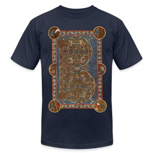 Munich Psalter page - Men's T-Shirt by American Apparel