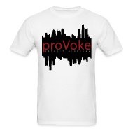 T-Shirts ~ Men's T-Shirt ~ proVoke - Detroit City Red