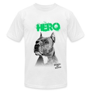 Hero Men's Tee (White) - Men's T-Shirt by American Apparel