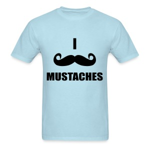 Mustaches!  - Men's T-Shirt