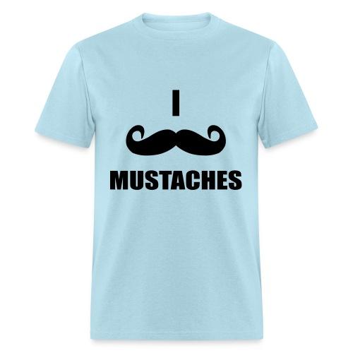 Mustaches!  - Men's T-Shirt
