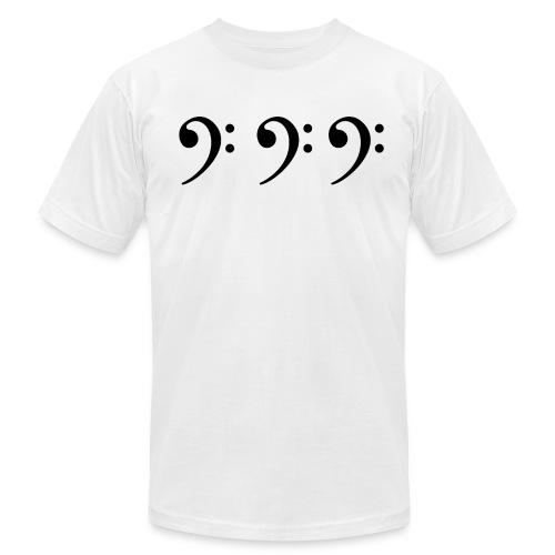 Bass Cleff T-Shirt - Men's Jersey T-Shirt