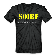 T-Shirts ~ Unisex Tie Dye T-Shirt ~ Official SOIBF 2011 Classic-cut tie dye t-shirt for both men and women