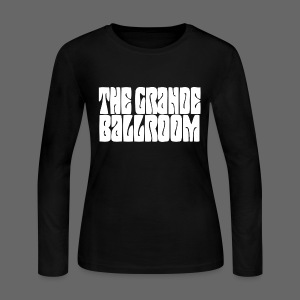 The Grande Women's Long Sleeve Jersey Tee - Women's Long Sleeve Jersey T-Shirt