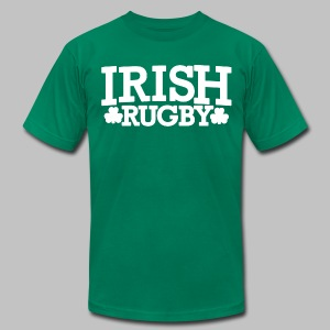 Irish Rugby - Men's T-Shirt by American Apparel