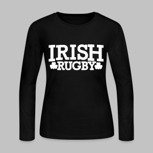 Irish Rugby - Women's Long Sleeve Jersey T-Shirt