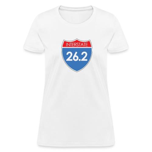 Interstate 26.2 - Women's T-Shirt