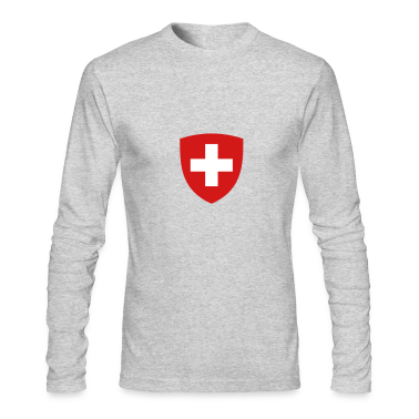 Helvetia Coat Of Arms (2c) Long Sleeve Shirts