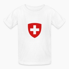 Helvetia Coat Of Arms (2c) Kids' Shirts