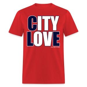 City Love - Indians Red - Men's T-Shirt
