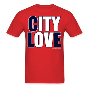 City Love - Indians Red - Men's T-Shirt