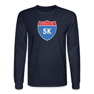 Interstate 5K - Men's Long Sleeve T-Shirt
