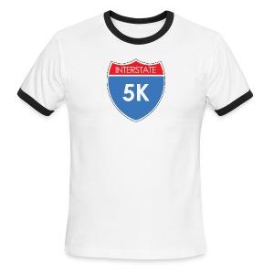 Interstate 5K - Men's Ringer T-Shirt