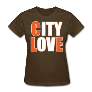 City Love - Browns Ladies Tee - Women's T-Shirt