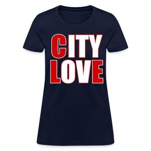 City Love - Tribe Blue Ladies Tee - Women's T-Shirt