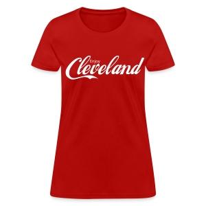 Enjoy Cleveland Ladies Tee - Women's T-Shirt
