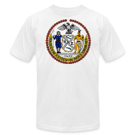 T-Shirts ~ Men's T-Shirt by American Apparel ~ New York City Seal