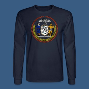 New York City Seal - Men's Long Sleeve T-Shirt