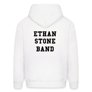 ETHAN STONE BAND white hoodie - Men's Hoodie