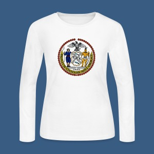 New York City Seal - Women's Long Sleeve Jersey T-Shirt