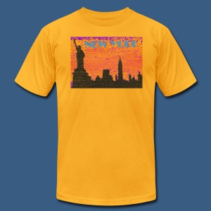 New York Artsy - Men's T-Shirt by American Apparel