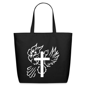 Cross/Dove Tote - Eco-Friendly Cotton Tote