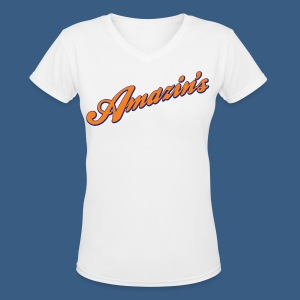 New York Amazin's - Women's V-Neck T-Shirt