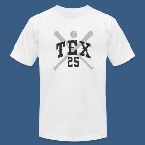 New York Tex 25 - Men's T-Shirt by American Apparel