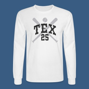 New York Tex 25 - Men's Long Sleeve T-Shirt